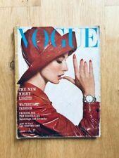 Vogue UK April 1963 Tania Mallet DUFFY Balenciaga GIVENCHY Pleasance SHRIMPTON
