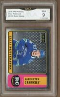 GMA 9 Mint ELIAS PETTERSSON 2018/19 OPC O-Pee-Chee Platinum ROOKIE Card *RETRO*!