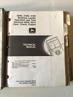 John Deere 300D, 310D, 315D Backhoe Loader Technical Manual. JD Service Manual.