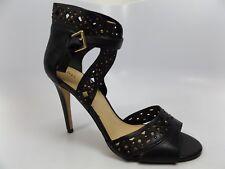 IVANKA TRUMP Womens DAPOLI Black High Ankle Strap Stiletto Sandal SZ 10.0 M-6356
