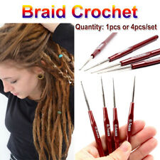 4Pcs Hook Needle Micro Hook Dreadlock Crochet Wig Making  Needles Tools  UK