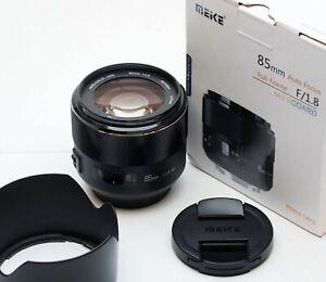 MEIKE AF (autofocus) 85mm f1,8 x CANON EOS
