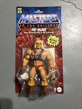 Mattel USA He-man Reissue Masters of The Universe Origins MOTU Action Figure...