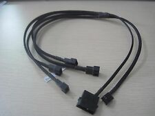 50cm PC Desktop IDE to Mainboard 4 * 4P Fan Power Supply PWM Control Cable cord