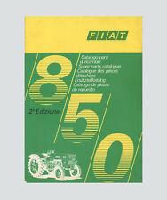 FIAT 850 Traktor Schlepper Ersatzteilliste Orginal 1971