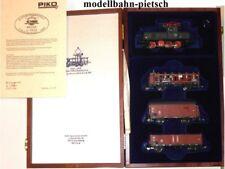 Piko 58103 Jubiläums-Set 1999, DB BR E63 + 3 Güterwagen, neu, OVP