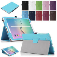 Leather Flip Cover For Samsung Galaxy Tab E 9.6 T560 T561 Tablet Stand Case NEW