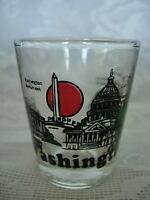 Collectible WASHINGTON D.C.Scenes Shot Glass