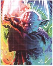 PSYCHEDELIC YODA - BLOTTER ART BY MR WILLS (OFFICIAL RELEASE) STAR WARS
