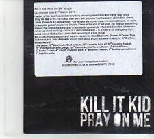 (DP178) Kill It Kid, Pray On Me - 2011 DJ CD