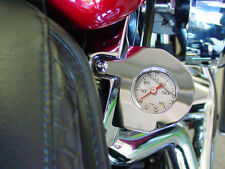 Oil Pressure Gauge Kit for Harley Davidson EVO Big Twin  - Chrome