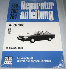 Reparaturanleitung Audi 100 Typ 44 1,9 liter / 2,2 liter 5-Zylinder, ab 1983