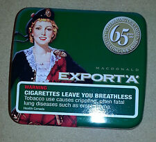 "COLLECTOR TINS EXPORT ""A"" HERITAGE CLASSIC TIN DEAL TWO PACK FOR REGULAR SIZE S"
