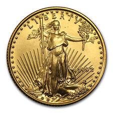 1992 1/4 oz Gold American Eagle BU - SKU #4710