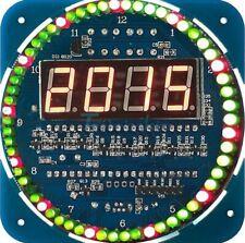 1 Bausatz DIY LED Alarm Digital Uhr Clock Kit Temperatur /Uhr Set Beschreibung