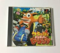 USED PS Crash Bandicoot Racing JAPAN Sony PlayStation 1 PS1 Japanese import game