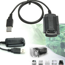 Festplatte HD HDD Konverter Adapterkabel Kabel USB 2.0 zu SATA IDE 2.5 3.5 Heiß