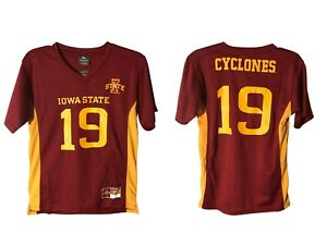 New Iowa State Cyclones Kids  Football Jersey College Youth  Shirt I-State