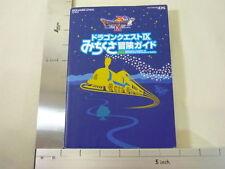 DRAGON QUEST IX 9 Michikusa Bouken Guide Book DS SE*