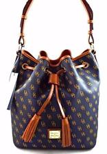 NWT DOONEY & BOURKE KENDALL NAVY BLUE HOBO DRAWSTRING BUCKET BAG NG248  $248