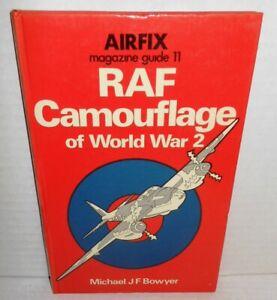 BOOK Airfix Magazine Guide #11 RAF Camouflage of World War 2 op 1975 1st Ed HB