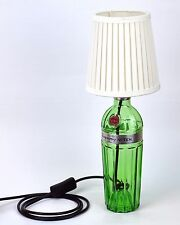 Bottle Lamp Tanqueray No. Ten Table Desk Lamp with White Lamp Shade