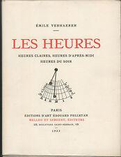 Emile VERHAEREN.Les Heures Claires,d'après-midi,du soir.Bois de Perrichon.