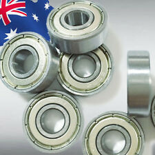 2pcs 608ZZ Metal Shields Ball Bearing 8mm x 22mm x 7mm Deep Groove OMOBE608Z x2