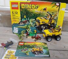 LEGO Dino Raptor Chase 5884 100% with Box Instructions and Minifigures RAPTOR