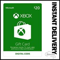 $20 XBOX Live - Xbox One / Xbox 360 $20 USD - US Gift Card [USA]