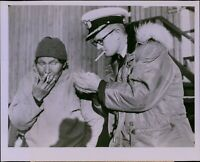 GA37 1953 Orig Photo TWO ON A LIGHT Adm Peary North Pole Expedition Guide Odak