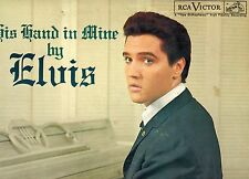 MFD IN CANADA BLACK LABEL LPM 2328 BLUES LP ELVIS PRESLEY : HIS HAND IN MINE BY