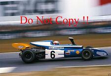 Rolf Stommelen Eifelland Type 21 Belgian Grand Prix 1972 Photograph