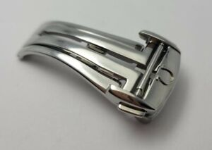 Omega Stainless Steel 16mm deployment clasp 94521613