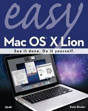 Easy Mac OS X Lion (2nd Edition), Binder, Kate, 0789748150, Book, Acceptable