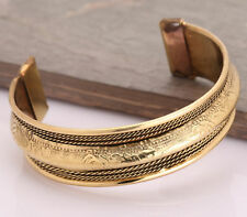 Unisex Magnetic Healing Bio Therapy  Tibetan Pain Relief Bangle Copper Bracelet