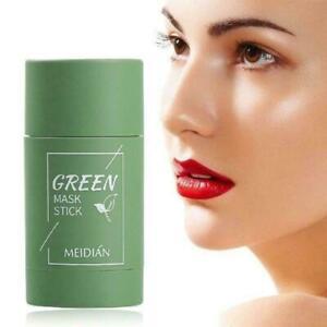 Cleansing Facial Mask Stick For All Skin Types Women & Men Anti-Acne Green Tea
