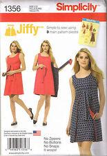 Easy Vintage 70s Retro Reversible Wrap Dress Jiffy Sewing Pattern 14 16 18 20 22