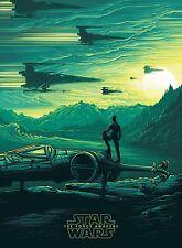 STAR WARS VII FORCE AWAKENS AMC IMAX MANIFESTO DAN MUMFORD POE DAMERON X-WING