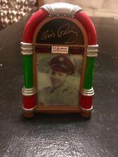 Elvis Presley Musical Jukebox Hologram Ornament