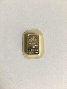 Scottsdale Lion .999 Silver 5 Gram Bar #2