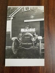 c 1910 Hudson Automobile Car Real Photo Postcard RPPC