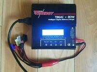 Tenergy Team TB6AC+80W Intelligent Digital Balance Charger - TESTED