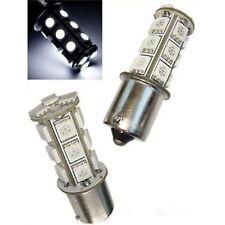 White LED #1156 12V Park Parking Back Up Tail Light Turn Signal Lamp Bulbs 18SMD