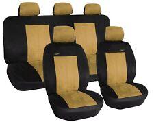 Auto Sitzbezüge Schonbezüge Schwarz geeignet für Hyundai Tucson Veloster Isuzu