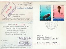 284313 / Flugpost Beleg Luftschiff Beförderung  Pestalozzi Schweiz