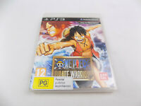 Mint Disc Playstation 3 Ps3 One Piece Pirate Warriors 1 I First Game Free Post