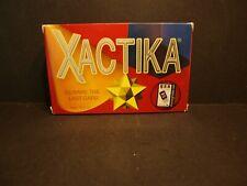 2002 SET Enterprises XACTIKA Bidding Card Game For 2~10 Players Ages 12+~~NIB!!