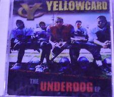 The Underdog by Yellowcard (CD EP,  2002, Below Par Records) 30 DAYS WARRANTY.