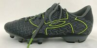 Under Armour Boys Shoes Soccer Baseball Cleats Sz 1.5Y Gray Black 1264205-003